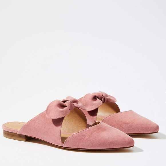 LOFT Shoes | Loft Bow Slipon Flats